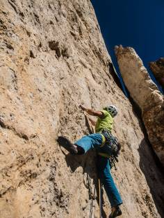 Climbing c'est plus facile gusela del Nuvolau, dolomites