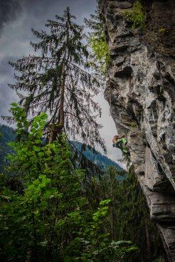 Climbing in Zillertal