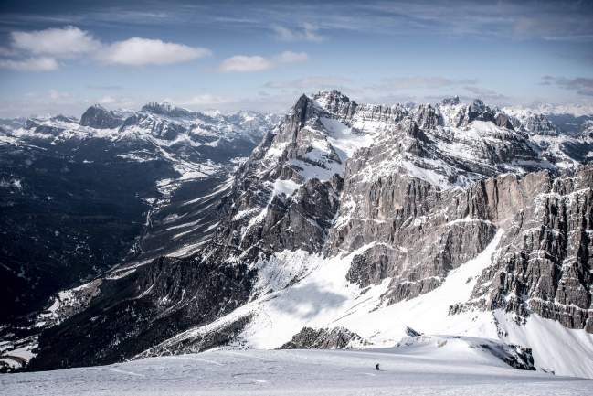 skitouring in cortina mountain guide antelao