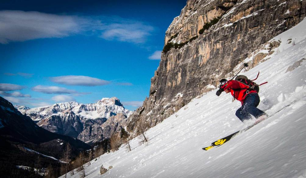 skitouring on forming group ciadenes