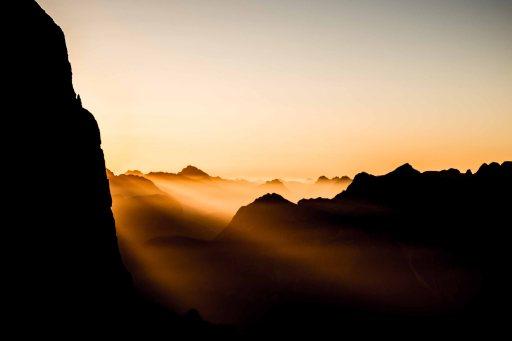 Sunrise from Lagazuoi