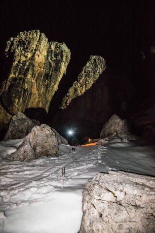 Gara skialp notturna 5 Torri