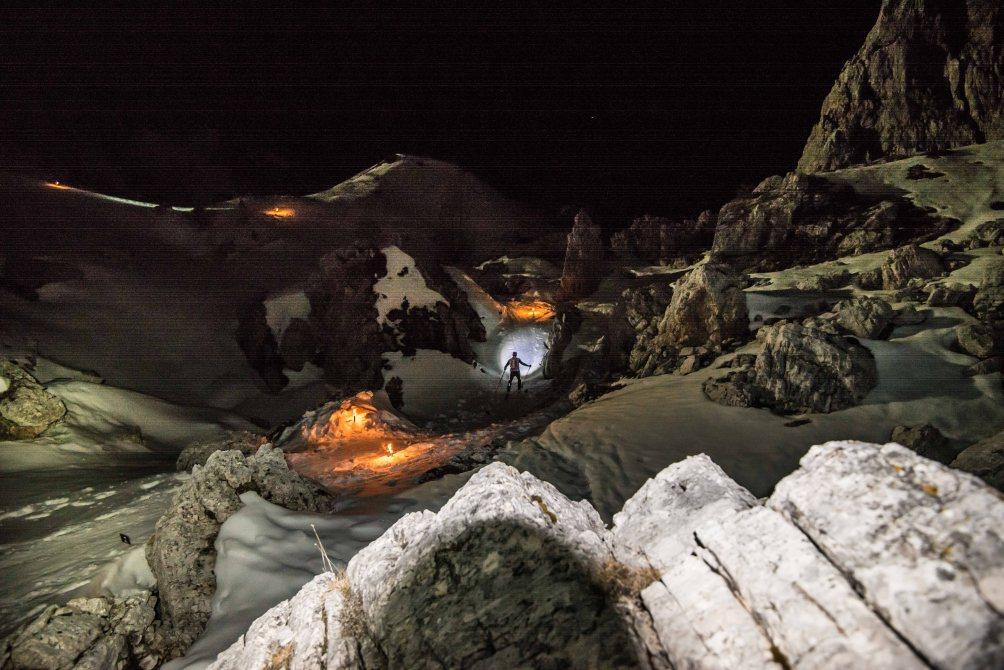 Skialp Scoiattoli 2017 verso il rifugio Scoiattoli