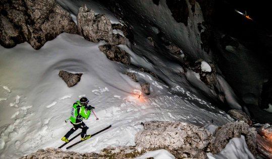 Scialpinismo tra le 5 Torri verso il rifugio Scoiattoli