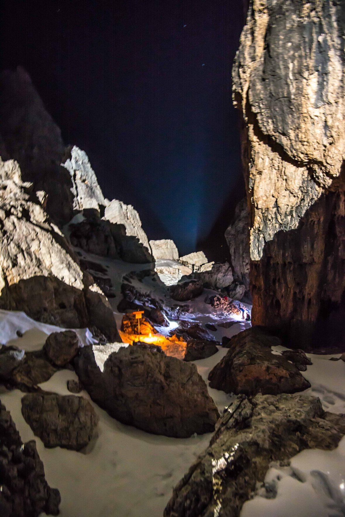 Gara Scialpinismo notturna gruppo Scoiattoli 2017