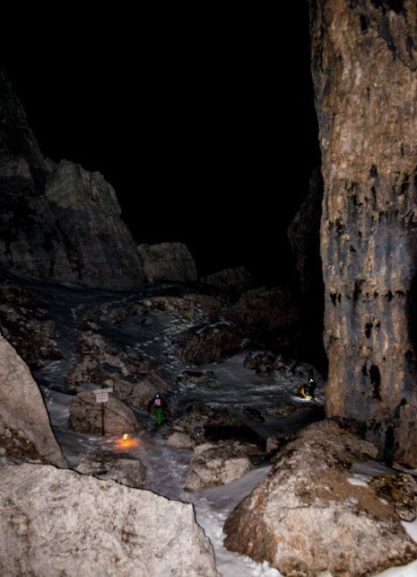 Scialpinismo in notturna tra le 5 Torri, Gara Scialpinismo Scoiattoli Cortina
