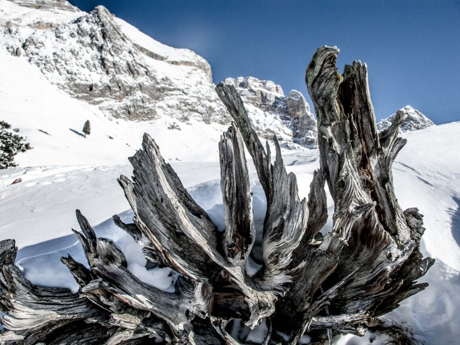 Skitorung aronud Croda Rossa d'Ampezzo