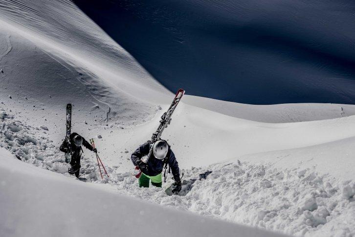 Looking for good snow in 5 Torri